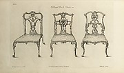 The Gentleman and Cabinet-maker's Director:  Being a Large Collection of . . . Designs of Household Furniture in the Gothic, Chinese and Modern Taste . . .
